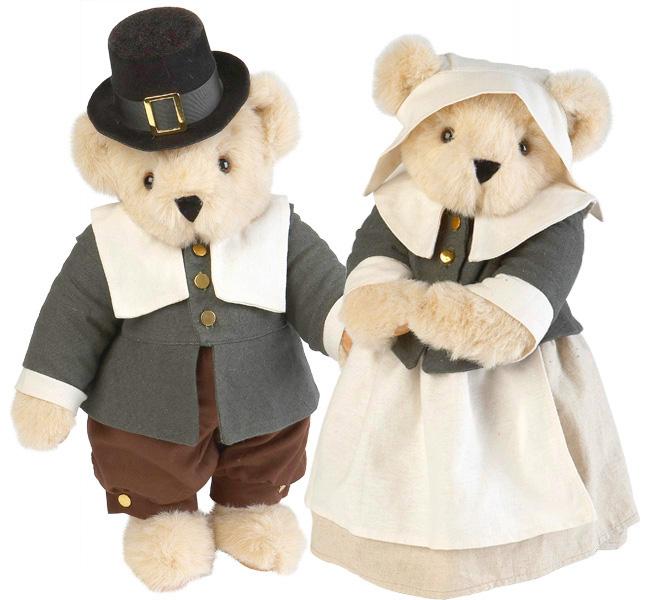 Vermont teddies pilgrims