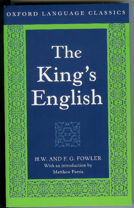 Fowler The King's English
