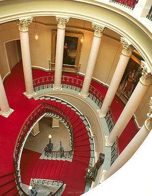 Culzean oval stair