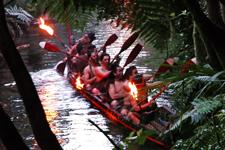 Maori show Mitai