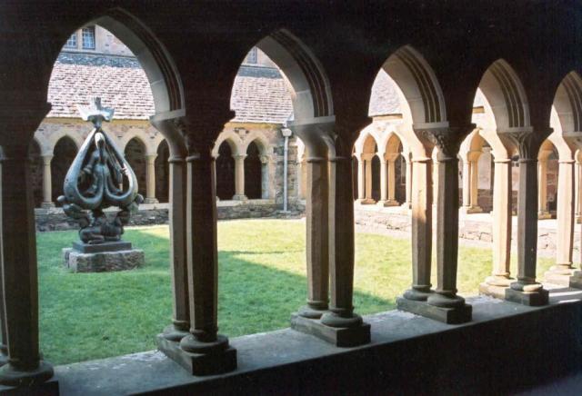 Iona cloisters