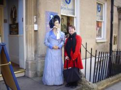 Amanda with Jane Austen