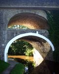 Double arched bridge