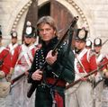 Sharpe and redcoats