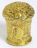 Wenches 2cane head germany 1740 to 50 gold in v and a