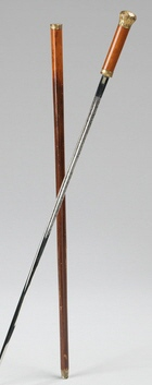 Wenchesmet sword cane late2 C19