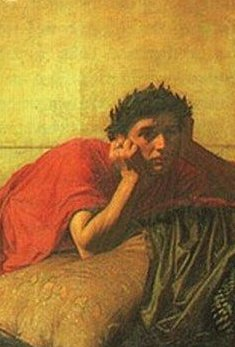 Remorse of nero after murder of his mother 1878 waterhouse detail