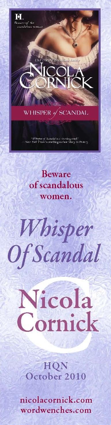Whisper of Scandal bookmark 1