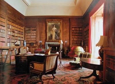 Dunrobin_castle_library