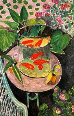 The goldfish by henri matisse
