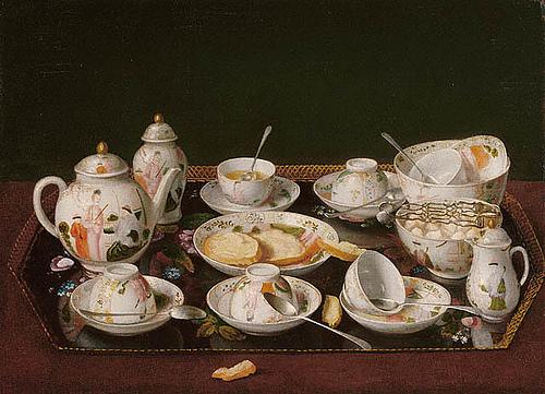 Jean liotard still life tea set 1783