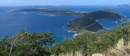 Virgin Gorda from Gorda Peak