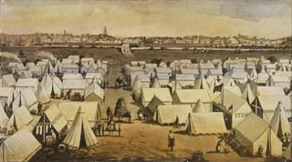 Canvas_town_south_melbourne_victoria_1850s