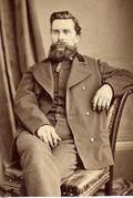 Victorian man with beard