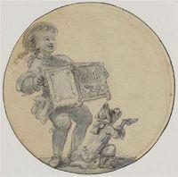 Le petit montreur de singe savant fragonard jaconde late c18