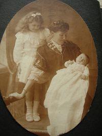 8 Georgette, Sylvia & baby Boris