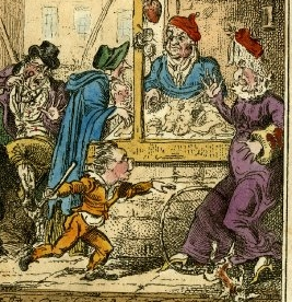 Cruikshank grievances of london british museum detail