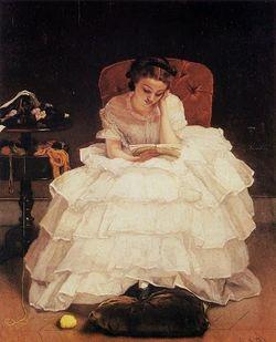 Stevens Girl Reading