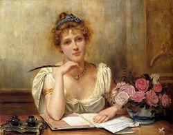 _Kilburne_George_Goodwin_Penning_A_Letter