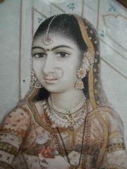 Anglo-Inidan lady