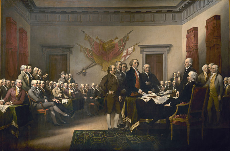 Declaration_independence, Trumbull