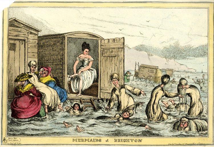 Mermaids at brighton 1825