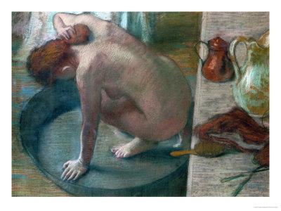 Degas-edgar-the-tub-bathing-woman-1886