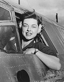 WASP pilot Elizabeth L. Gardner