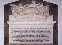 Walter vane St Bega's Church, Bassenthwaite, Cumbria, NY22652875