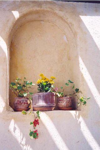 Santorini--wall niche