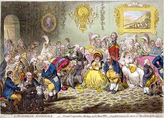 Gillray - Charles James Fox