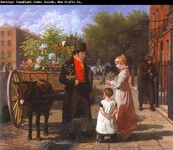 Agasse, Jacques-Laurent flowerseller 1822