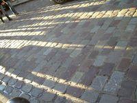 Cobblestone street Latin Quarter Paris