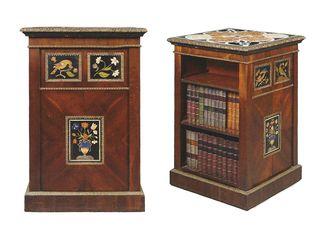 Regency open sided bookcase