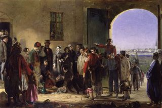 Florence Nightingale at Scutari