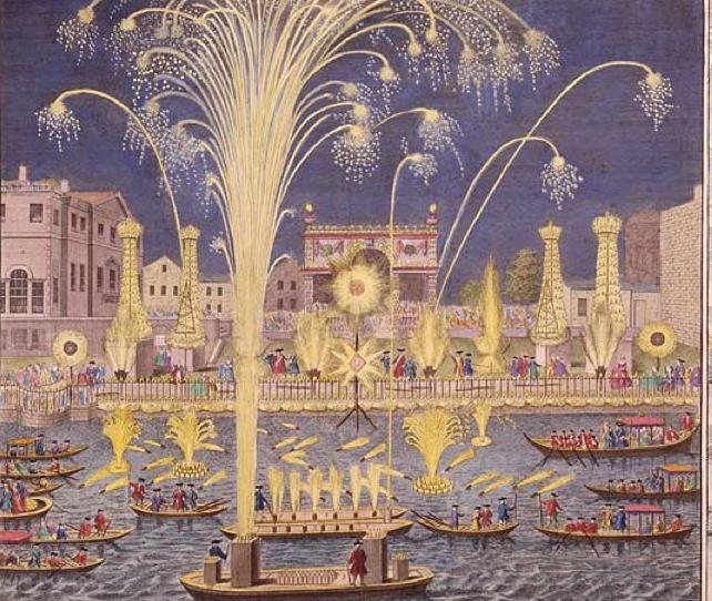 Fireworks 2 and illuminations 1749
