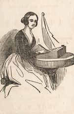 Fashionable letter 2 writer troy ny merrian moore 1850