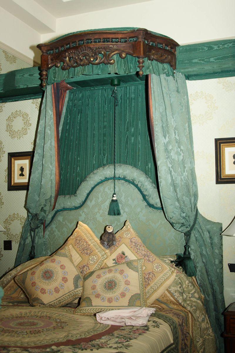 Elizabeth of Bohemia's bed
