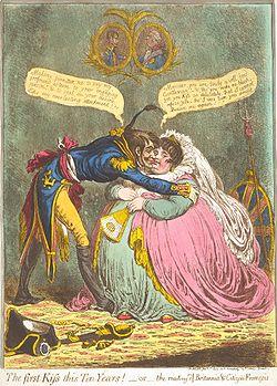 Treaty of Amiens cartoon
