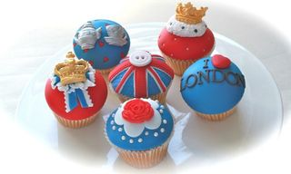 Jubilee cup cakes