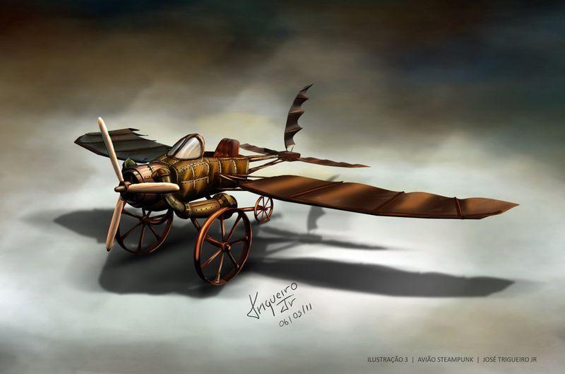 Steampunk_plane_by_trigueirojr-d3gh9zx