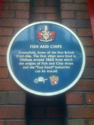 First fish and chips shop