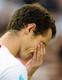 Andy Murray crying
