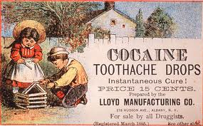Cocainetoothdrops
