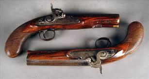 Duelling pistols