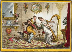 Gillray-Harmony-before-Matrimony 1805-w