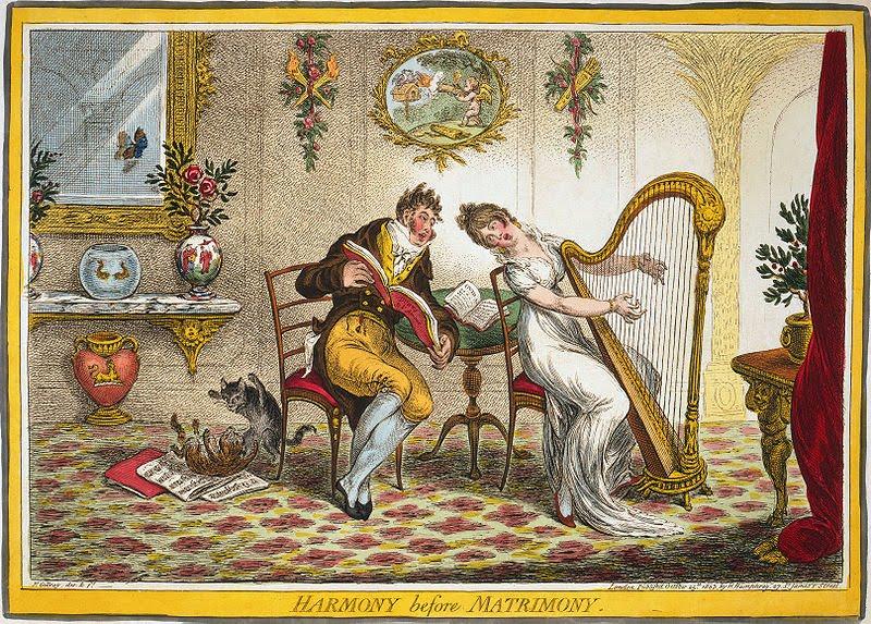Gillray-Harmony-before-Matrimony 1805-w