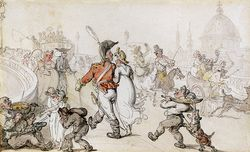 Rowlandson_Thomas_Elegant_Company_On_Blackfriars_Bridge artrenewal