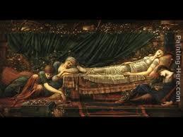 Sleeping beauty Burne Jones