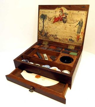 W reeves 1784 to 1789 paint box  from whimsies one time permissiontn